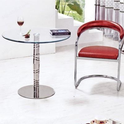 高端钢化玻璃洽谈桌 商务办公洽谈桌13