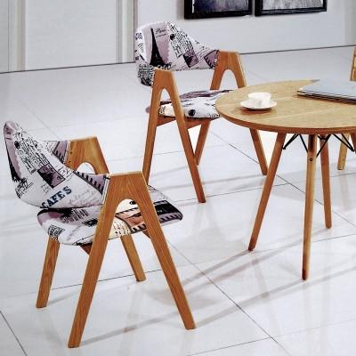 河北盛朗接待会客休闲实木桌椅06