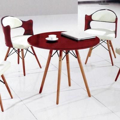 休闲洽谈桌椅 咖啡厅酒吧圆桌椅01