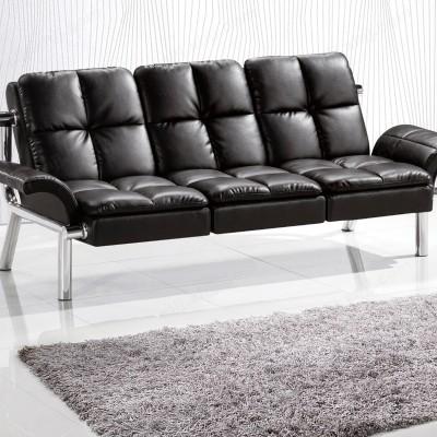 现代简约办公室沙发 商务皮沙发12