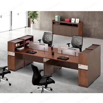 河北盛朗双人职员办公桌员工位23