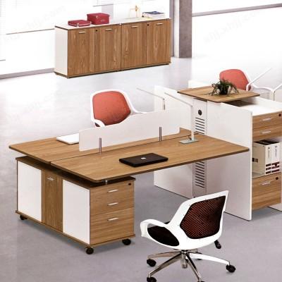河北盛朗员工电脑桌 屏风办公桌09