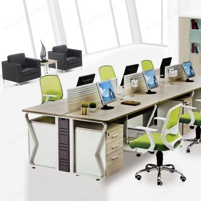 河北盛朗员工办公桌 职员组合电脑桌02