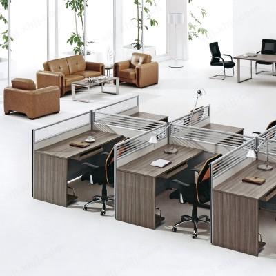 河北盛朗屏风隔断桌 多人位电脑桌01