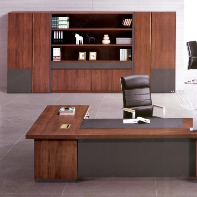 简约现代板式经理台 主管办公桌10