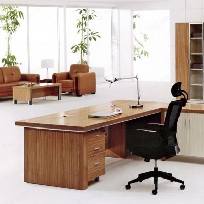 简约现代板式办公桌 老板主管桌09