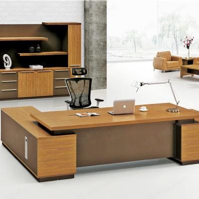 简约现代老板桌 时尚板式写字台01