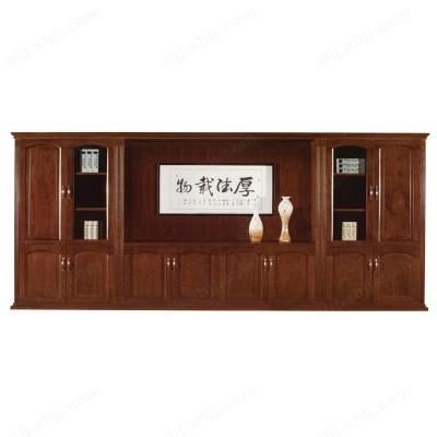 油漆木皮书柜 时尚新品书柜01