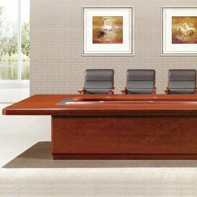 河北盛朗实木油漆会议桌 开会桌06