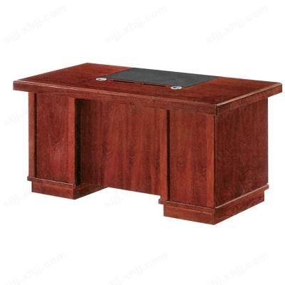 实木油漆办公桌 贴木皮主管桌18