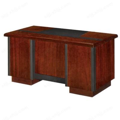 实木油漆办公电脑桌 单人写字桌15