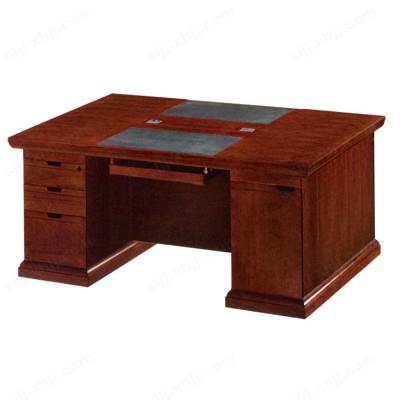 河北盛朗实木油漆老板桌 中班台14