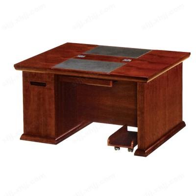 河北盛朗对坐小班台 实木办公桌13