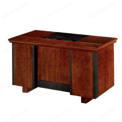河北盛朗单人实木办公桌 油漆电脑桌12