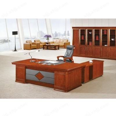 中式风格大板桌 实木老板台06