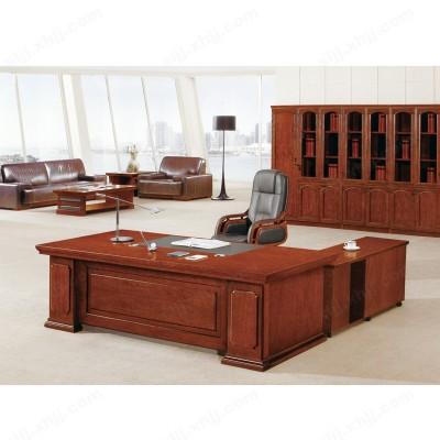 油漆实木总裁桌 经理主管桌03