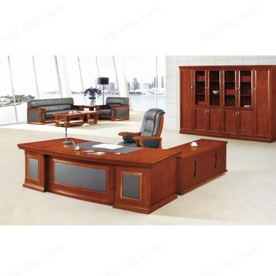 油漆老板桌 大班台 总裁大班桌02