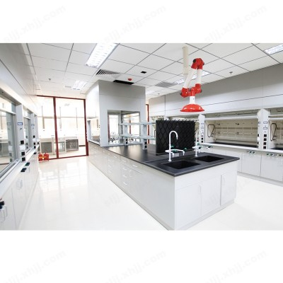 化学试验台 全钢活动柜中央台06