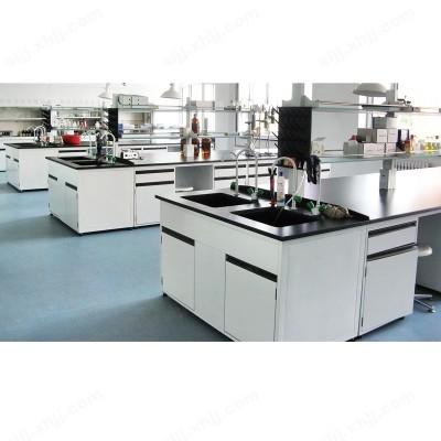 河北盛朗实验室专用钢木水槽台01