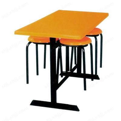 河北盛朗分体式餐桌 挂凳式餐桌15