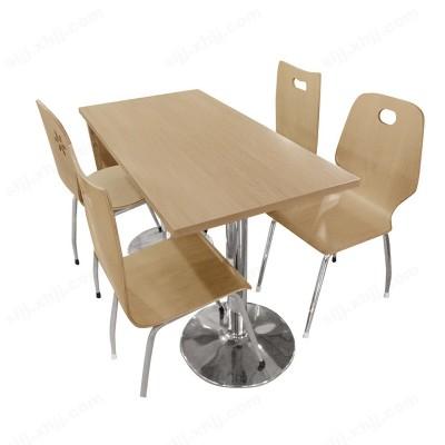 河北盛朗食堂四人位餐桌椅13