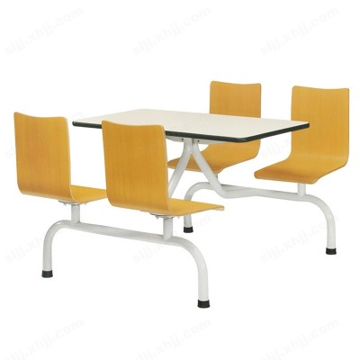 河北盛朗肯德基桌椅 快餐店桌椅11