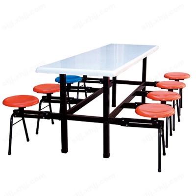 河北盛朗可折叠玻璃钢餐桌椅09
