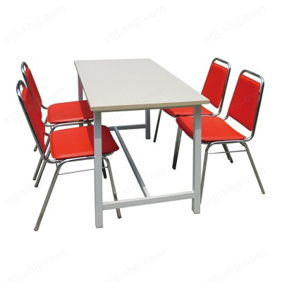 河北盛朗快餐桌椅 分体式餐桌餐椅07