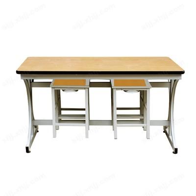河北盛朗分体餐厅桌椅 简约餐桌椅06