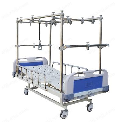 ABS床头多功能双摇骨科牵引床04