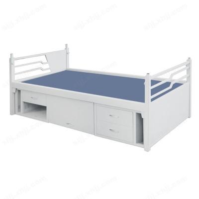 员工宿舍床 学生加厚单人床07