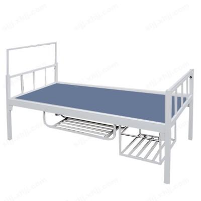 河北盛朗钢制带置物架单层床05