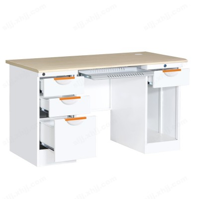 河北盛朗纯白电脑桌 财务办工桌12