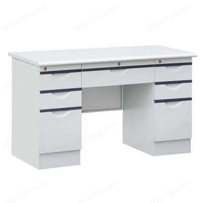 河北盛朗加厚铁皮电脑桌 钢制办公桌11