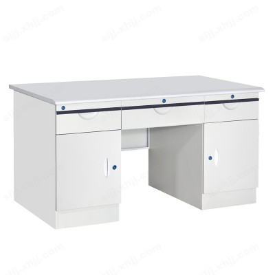 河北盛朗防火板办公桌 铁皮办公桌07