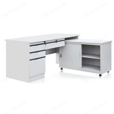 河北盛朗钢制办公桌 侧桌工作台03