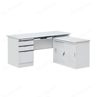 河北盛朗钢制电脑桌 L型电脑桌02