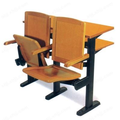 学生课桌椅 阶梯教室座椅02
