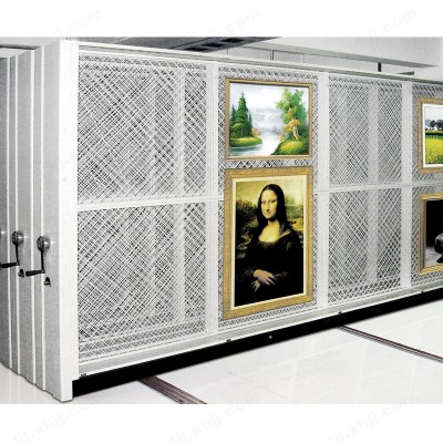 河北盛朗画框密集柜 油画架15