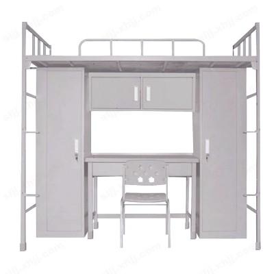 河北盛朗军队制式带书桌衣柜上下床11
