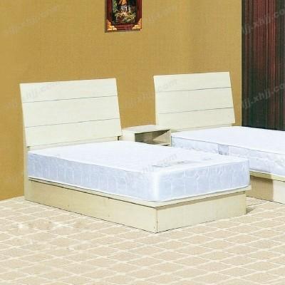 河北白色板式酒店客房家具16