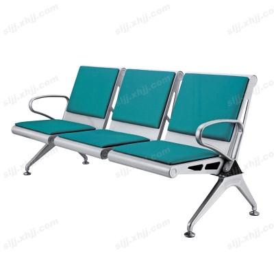 天津盛朗三人位皮艺银行等候椅21