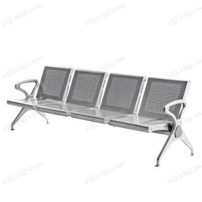 天津不锈钢带孔车站等候椅20