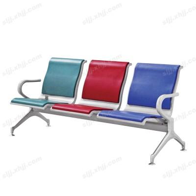 天津盛朗三色皮艺等候排椅17