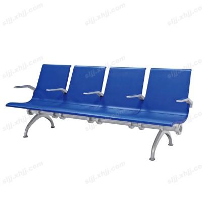 天津时尚蓝色公共等候椅14