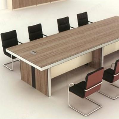 河北盛朗铁柜会议桌长桌简约办公桌12