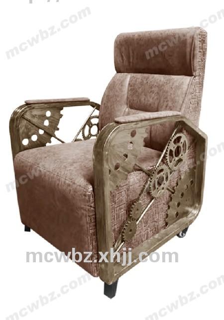 香河欧式复古单人沙发111