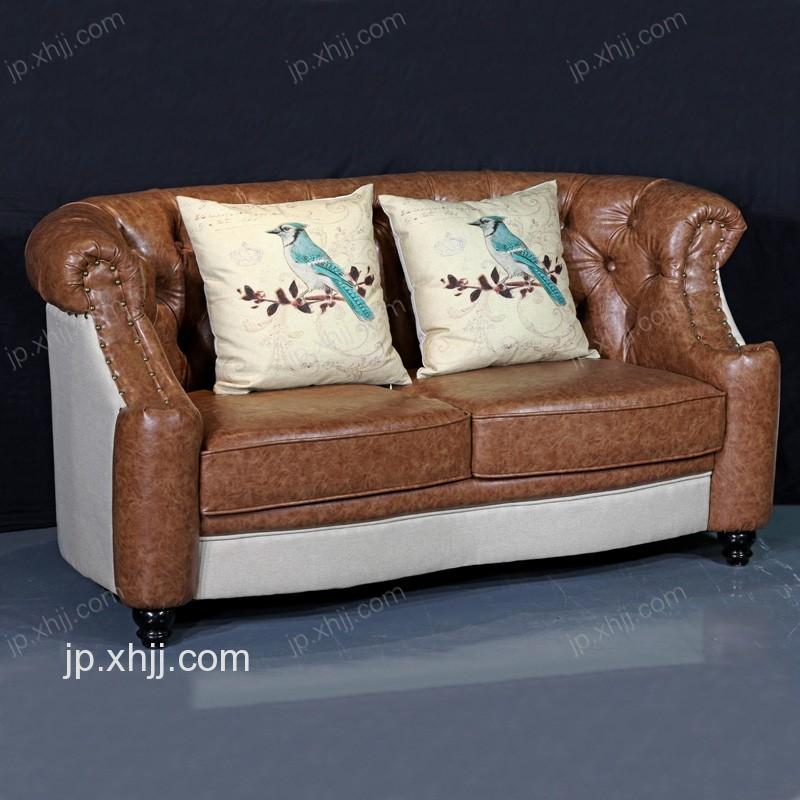 香河美式沙发客厅现代简约沙发