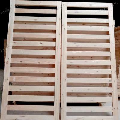 香河实木床板 环保透气排骨架