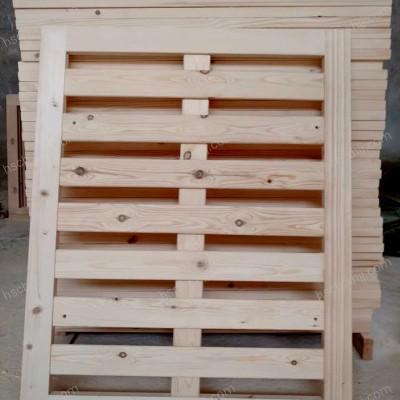香河透气折叠实木排骨架 实木硬床板